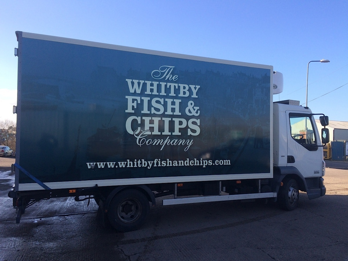 Vinyl Signs - large vehicle graphics