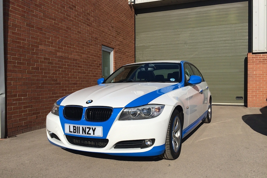 BMW Partial Wrap-Highlights