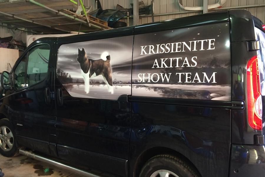 Krissienite Akitas Show Team