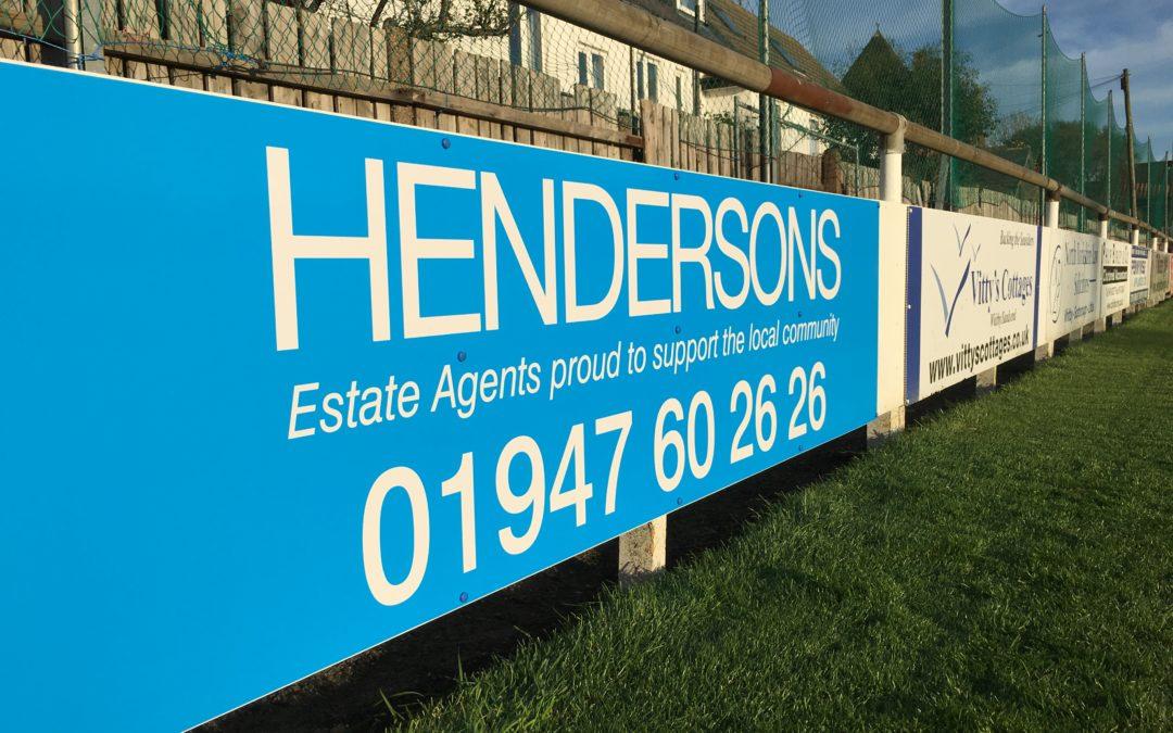 Hendersons Vinyl Signs