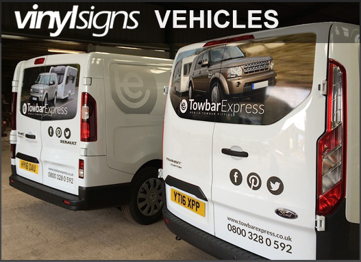 Vinyl Signs Vehicles