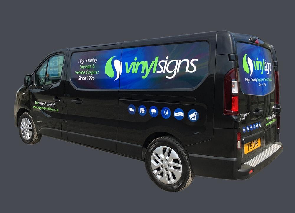 Vinyl Signs Van