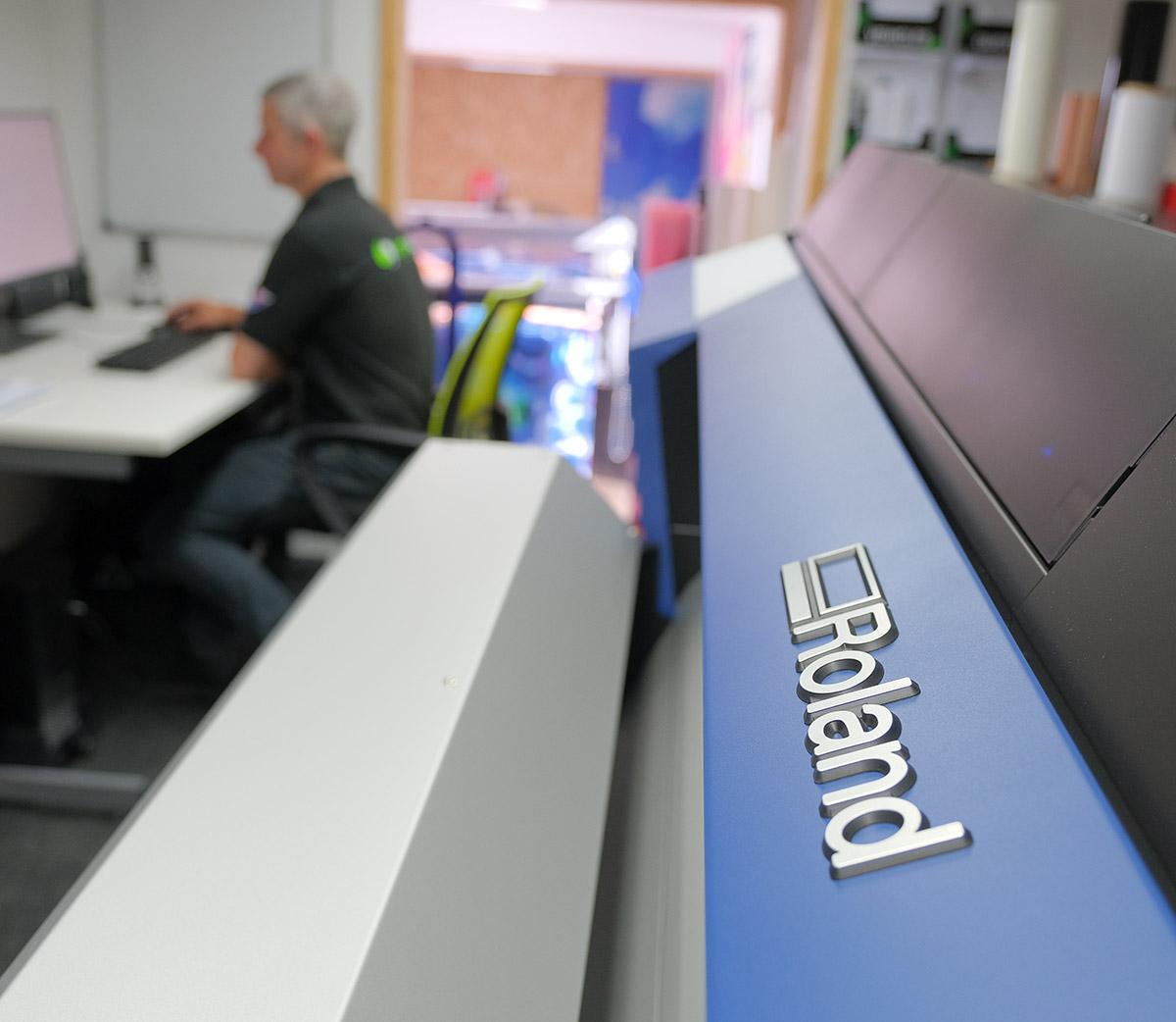 robert and printer